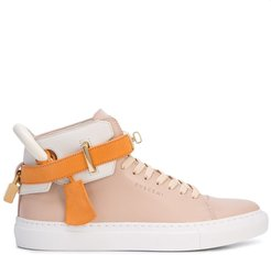 high-top sneakers - Orange