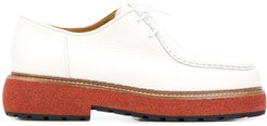 Mona lace-up shoes - White