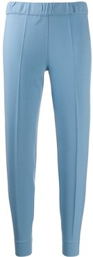 slim fit tailored trousers - Blue