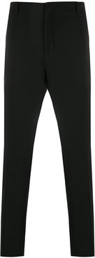 slim fit trousers - Black