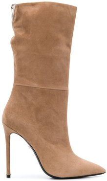 Look stiletto ankle boots - Neutrals