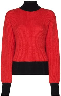 Muzelle turtleneck jumper - Red