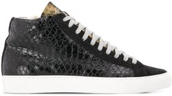 Star high-top sneakers - Black