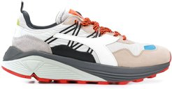Heritage Rave panelled sneakers - Grey