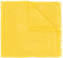 soft weave scarf - Yellow