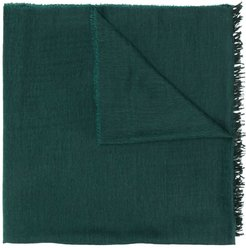 cashmere knit scarf - Green