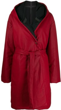 Droplatique down coat - Red
