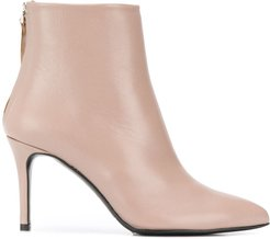 pointed ankle boots - NEUTRALS