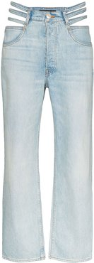 x Mimi Cuttrell Willow cut-out jeans - Blue