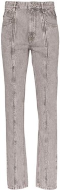 Hominy high-rise jeans - Grey