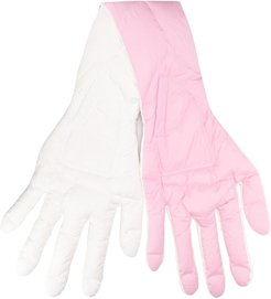 oversized hand scarf - Pink