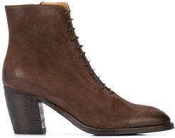Yara lace-up boots - Brown