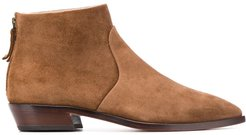 pointed toe boots - Brown