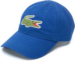 logo embroidered cap - Blue