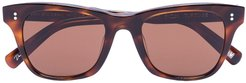 007 square sunglasses - Brown