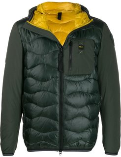 padded down jacket - Green