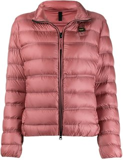 quilted puffer jacket - Pink
