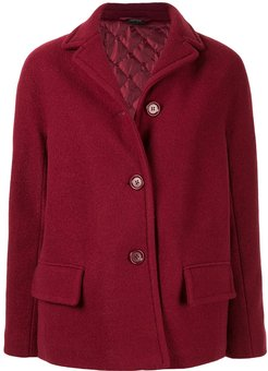 front button jacket - Red