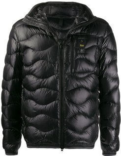 Booth Wave down jacket - Black