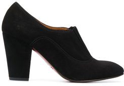 Elaud chunnky-heel pumps - Black