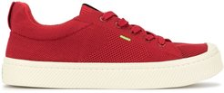 low knit sneakers - Red