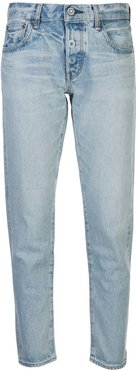 Camilla mid-rise tapered jeans - Blue