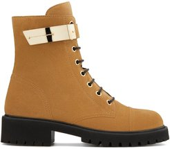 Alexa lace-up boots - Brown