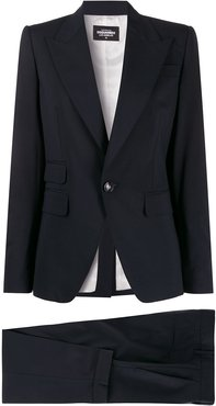 single-breasted suit jacket - Blue