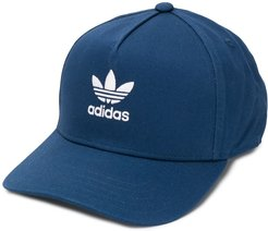 embroidered logo cap - Blue