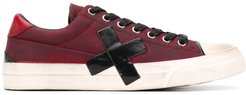 low-top sneakers - Red
