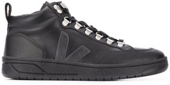 Roraima embroidered logo high top sneakers - Black