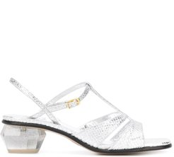 The Gem sandals - Grey