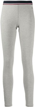 jersey leggings - Grey