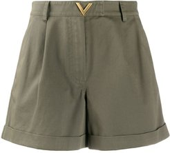 VGOLD tailored shorts - Green