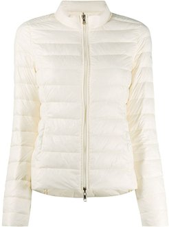 quilted padded jacket - NEUTRALS
