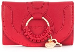 front ring wallet - Red
