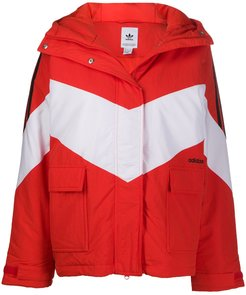 Iconic Winter hooded jacket - Red