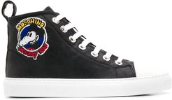 Mickey Rat hi-top sneakers - Black