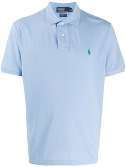 relaxed fit polo shirt - Blue