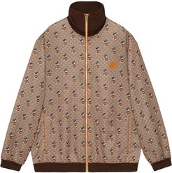 x Disney Mickey Mouse oversized jacket - Brown