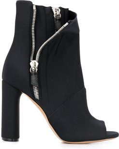 Elastic Girl Chiodo ankle boots - Black