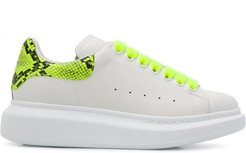 Oversized low-top sneakers - White