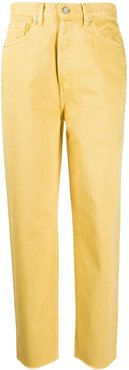 Toby Vintage High-Waisted jeans - Yellow