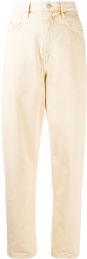Corsy high-rise jeans - Yellow
