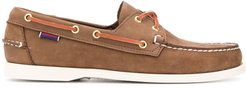 Dockside Portland boat shoes - Brown
