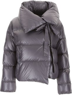 Puffer Jacket With Bow