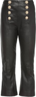 Leather Sailor Trousers