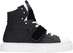 Hypnos Sneakers In Black Rubber/plasic