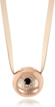 Bjorg The Grand Illusion Big Eyeball Womens Necklace