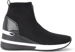 Skyler Ankle Boot In Black Technical Fabric